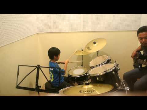 Guns N' Roses, Sweet Child O' MIne (Cover) - Cyrus Yap drummer (Jamming Session)