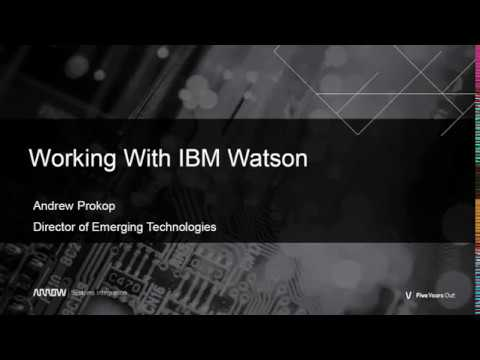 Building AI and Natural Language Processing applications with IBM Watson