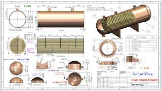 Heat Exchanger In Solidworks