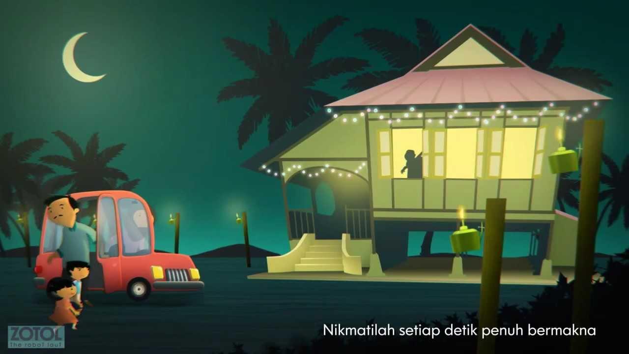 Rumah kampung wallpaper gambar c