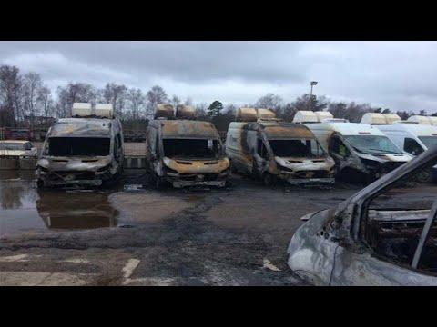 13 автомобилей видеофиксации сгорели в Раменском районе