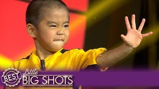 Angry Ryusei Is the Tiniest Bruce Lee Imitator | Best Little Big Shots