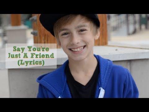 Austin Mahone- Say You're Just A Friend (Lyrics) (Johnny Orlando cover) (2013)