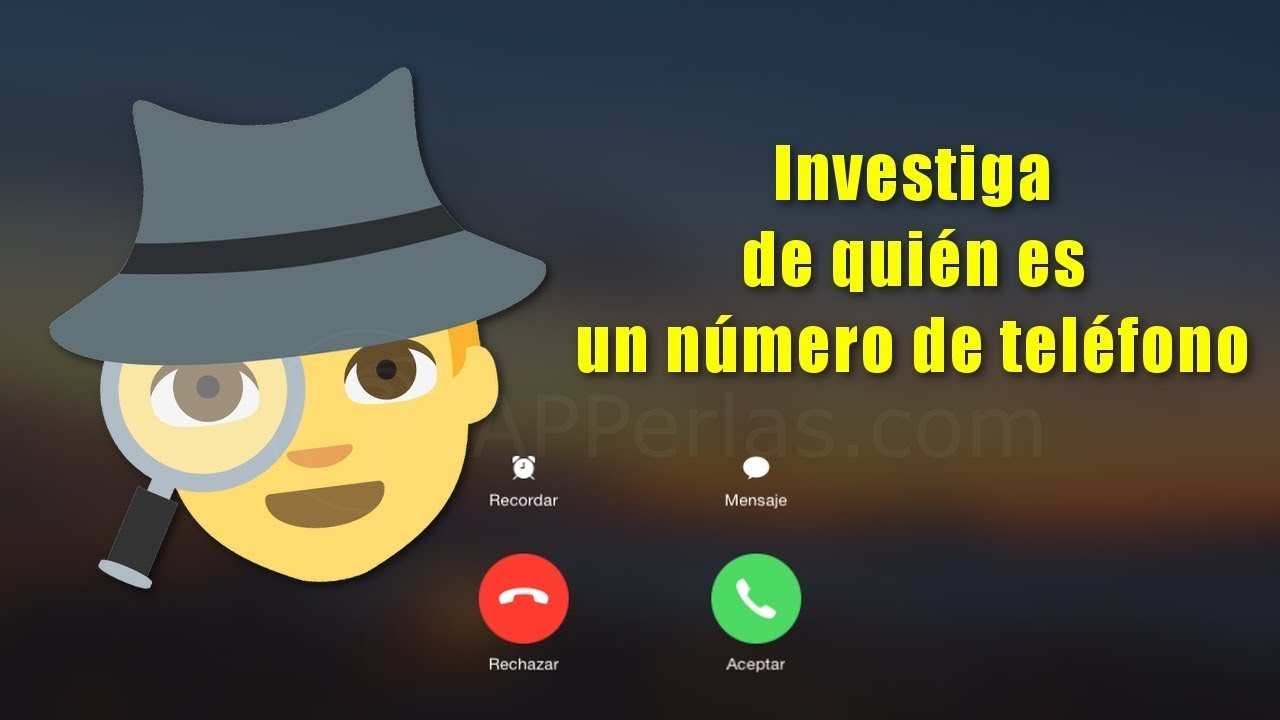 Cómo Saber De Quien Es Un Número De Teléfono Trucos De Whatsapp 9 Youtube