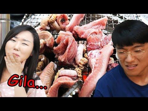 Makanan Korea yg paling ekstrim..Horor banget!!