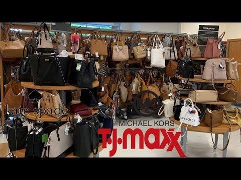 TJ Maxx Handbags Designer Purse Michael Kors Kate Spade Marc Jacobs | Shop With Me 2019