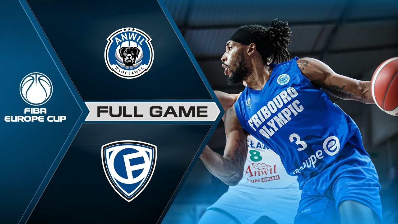 Anwil v Fribourg Olympic | Full Game - FIBA Europe Cup 2020-21