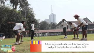 Cricket Practice:Handed Catch Practise