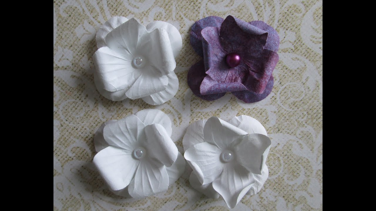 Как сделать цветок из бумаги для скрапбукинга своими руками?