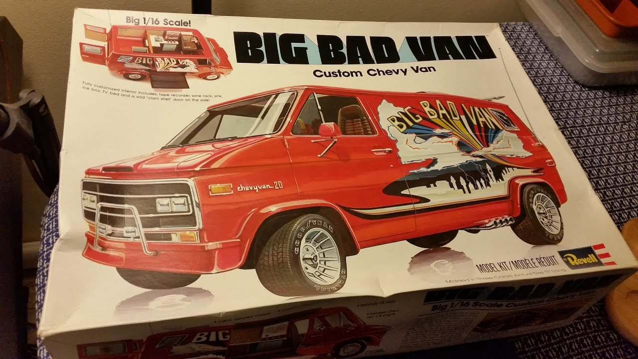 Revell Big Bad Van - In-box review and wreck - YouTube