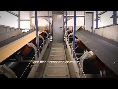 Siwertell dry bulk terminal solution