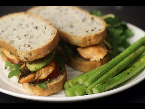 Fish Sandwich | Not So Junky - By Chef Siddharth | Sanjeev Kapoor Khazana