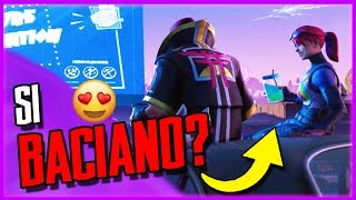 Alla DERIVA e La BOMBAROLO Si BACIANO Su Fortnite?!? Incredibile!!