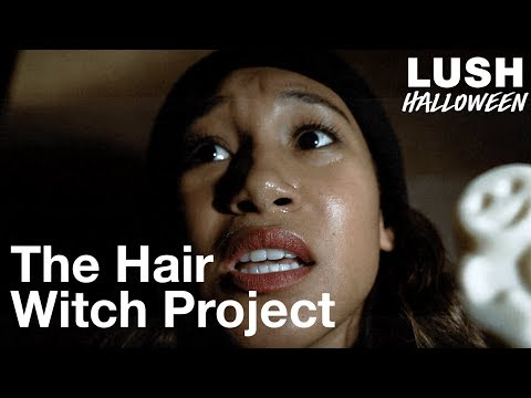 The Hair Witch Project starring Sydney Park: Lush Halloween 2018