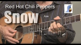 Red Hot Chili Peppers - Snow (Hey Oh) - Guitar Lesson