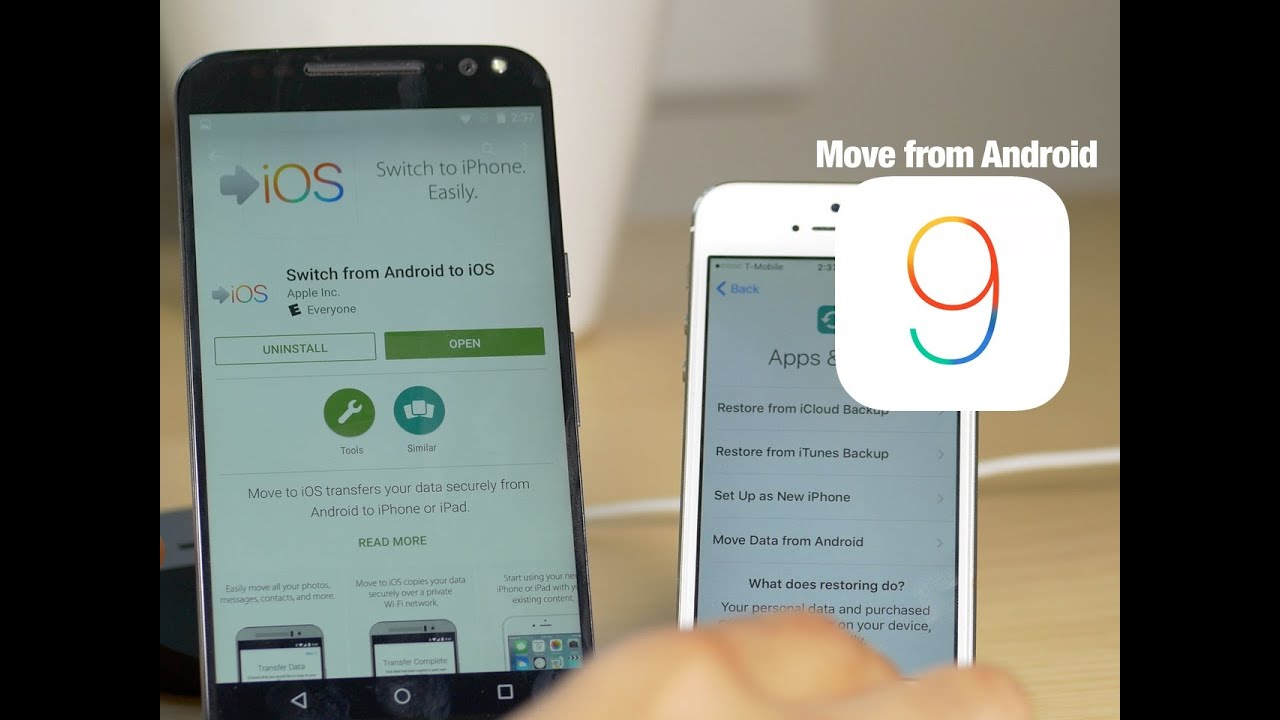iOS: Move from Android