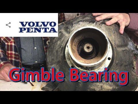Volvo Penta Gimble Bearing Shaft Seal Bearing Removal DP -C1