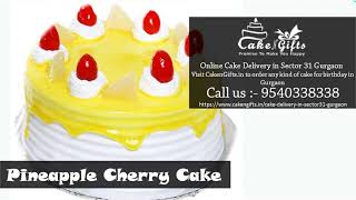 Visit CakenGifts in to order any type of chocolate cake in Gurgaon