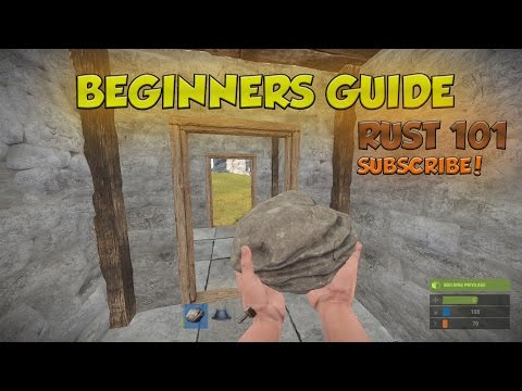 Beginners Guide to Rust - How to Craft and Build Your First Base!