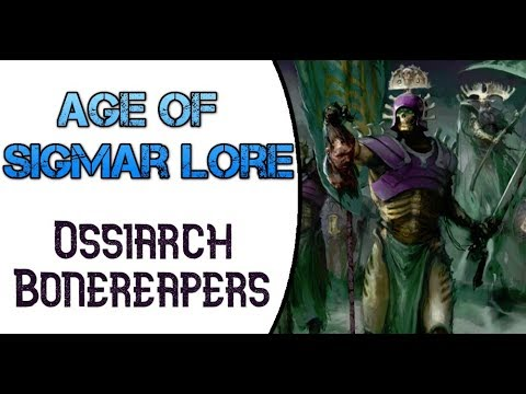 Age of Sigmar Lore: Ossiarch Bonereapers