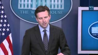 4/29/16: White House Press Briefing