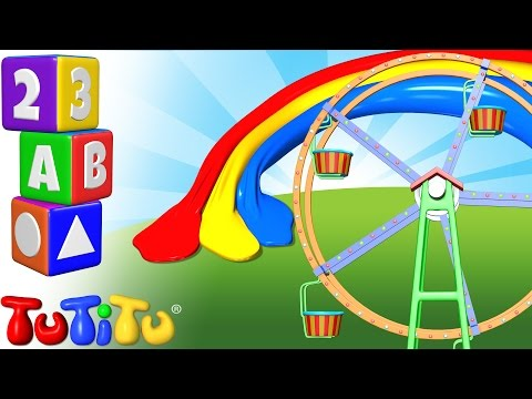 TuTiTu Preschool | Learning Colors for Babies and Toddlers | The Colors Ferris Wheel