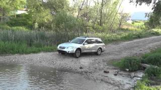 Пресичане на река край Кранево / Subaru Outback in Deep Water