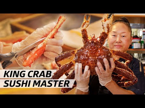 Chef Mikiko Ando Is A Master Of King Crab Sushi  — Omakase