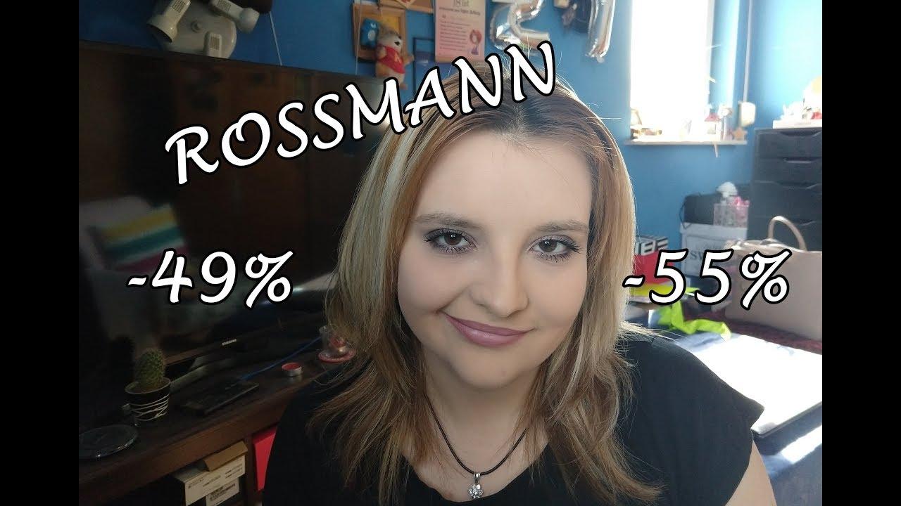 ROSSMANN promocja -49%/-55% CO POLECAM