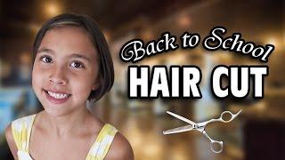 back to school hair cut jillian donates hair to locks of love
