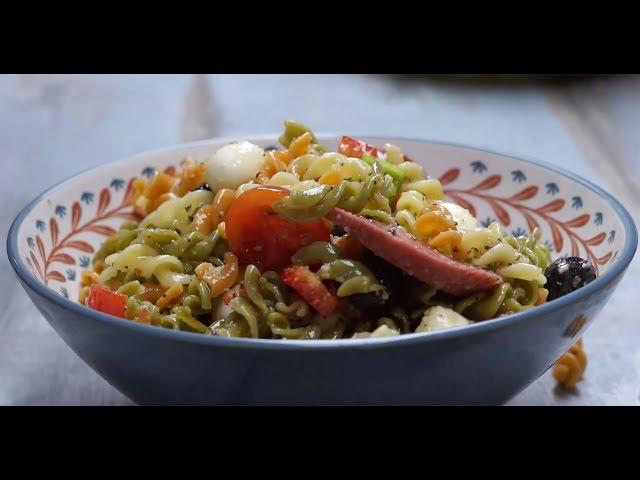 İtalyan Soslu Makarna Salatası Tarifi, Nasıl Yapılır?