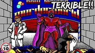 Top 10 Worst Marvel Video Games