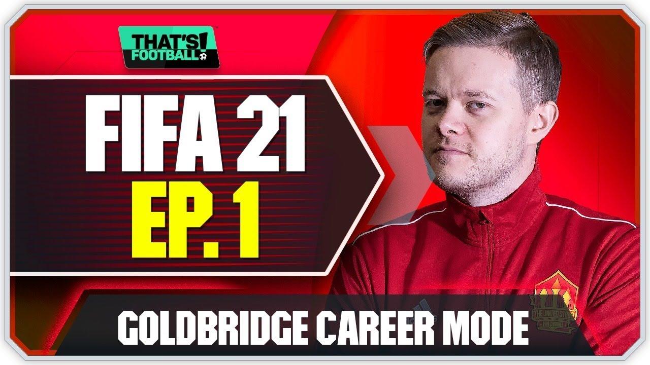 FIFA 21 MANCHESTER UNITED CAREER MODE! GOLDBRIDGE! EPISODE 1
