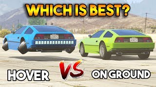 GTA 5 ONLINE : DELUXO HOVER VS ON GROUND (WHICH IS BEST?)