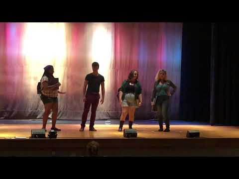 "Apple Alley Players rehearse ""Footloose the Musical"""