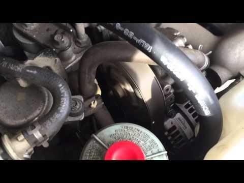 2007 Acura RDX turbo idling