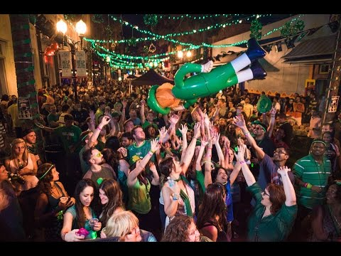St. Patricks Day Downtown Orlando Block Party 2015