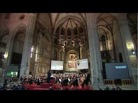 Andrea Molino: Of Flowers And Flames - World Premiere - Venice, Basilica dei Frari, October 3, 2009