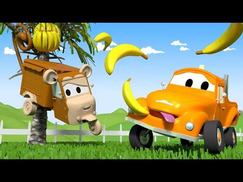 Carrie ist ein Affe - Die Lackierwerkstatt von Tom dem Abschleppwagen in Car City 🎨 Cartoons
