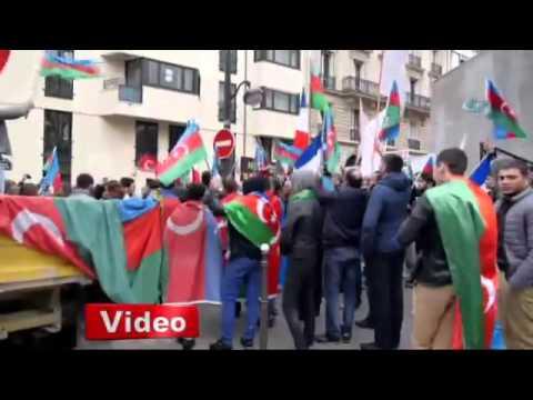 AZERİ TÜRKÜ kardeşlerimiz pkk'lıları dövdü.