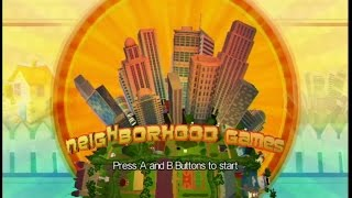 Neighborhood Games Wii Gameplay