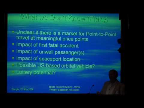 Space Tourism Markets  What We Know And What We Don't Know