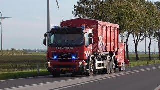 P1, WTS 01-2582 Veendam naar een buitenbrand in Farmsum!