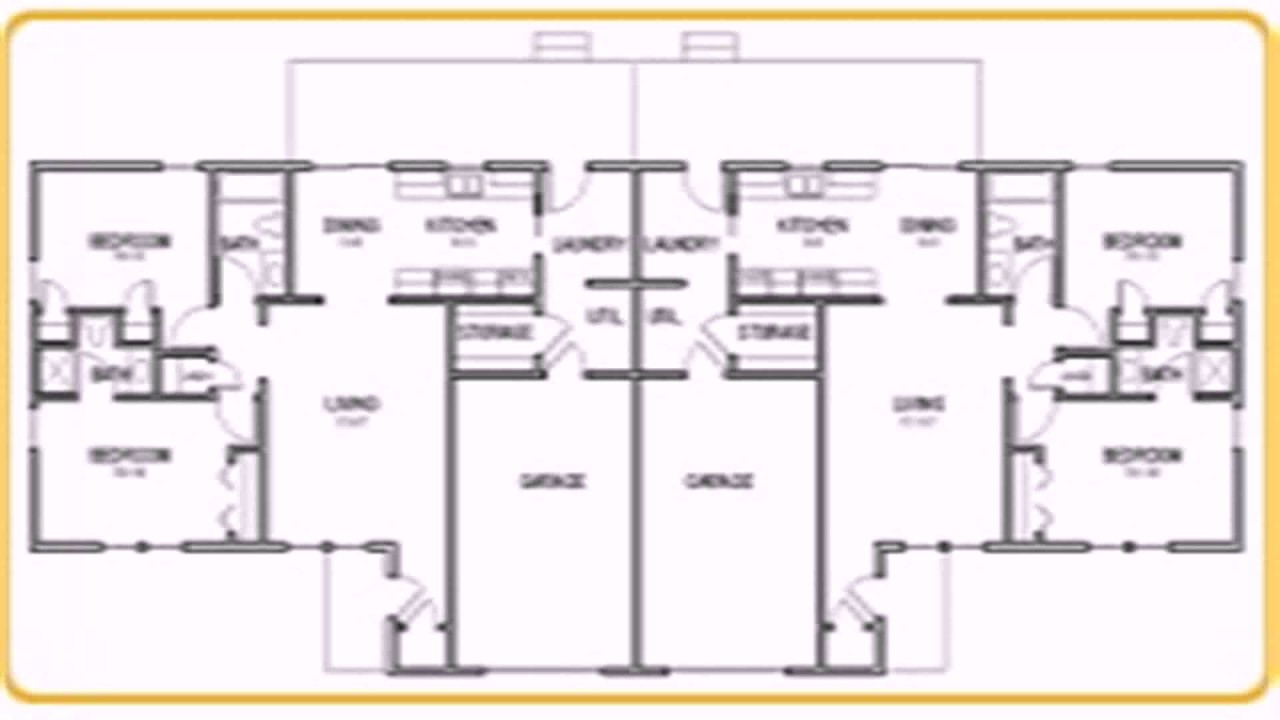 Floor plan with laundry room youtube - Laundry room floor plans ...