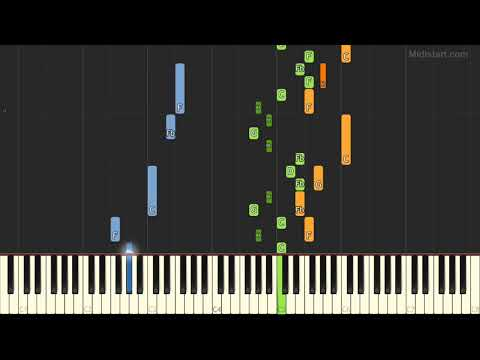 Bach - Trio Sonata No.1 (Piano Tutorial) [Synthesia]