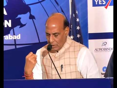 Rajnath Singh speech at the Indo American Chamber of Commerce Conclave, Hyderabad.