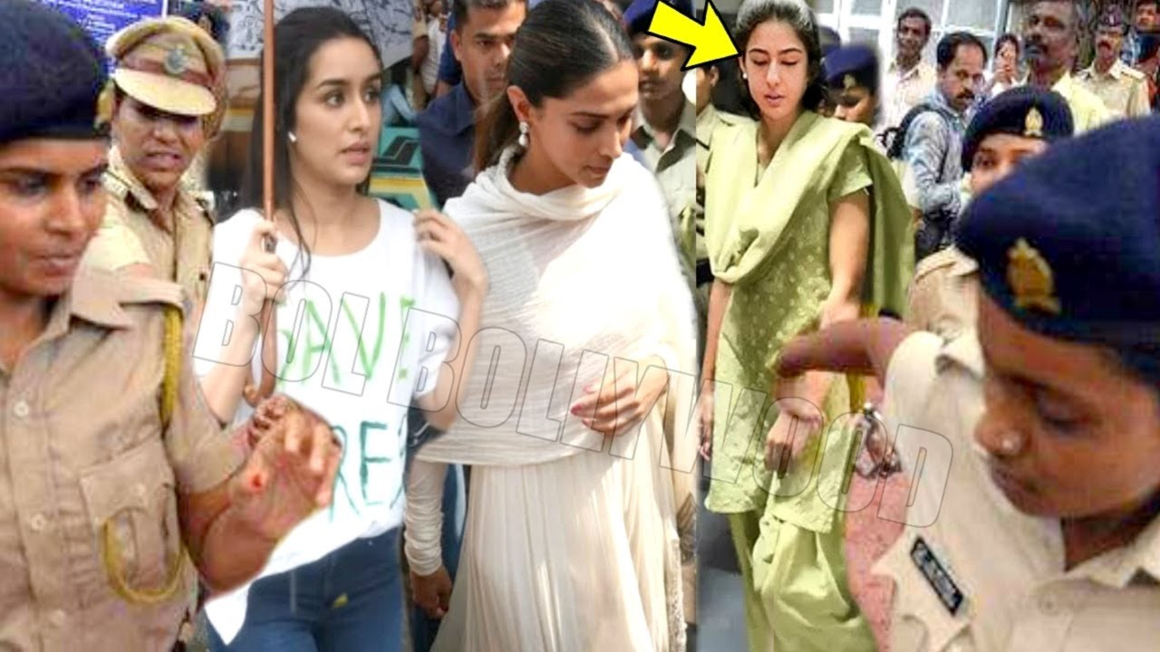 Its Done! NCB To Arrest All 3 Shraddha,Sara,Deepika 4Taking DRUGGS Under Bollywood Clean Up Mission!