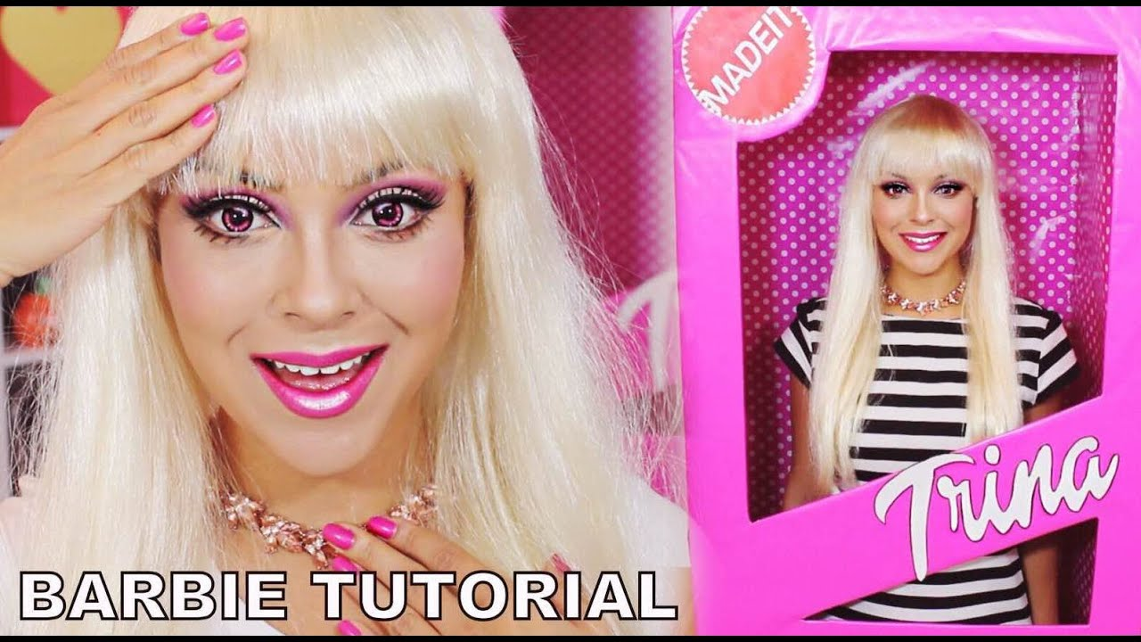 Barbie makeup tutorial halloween barbie box costume trinaduhra barbie makeup tutorial halloween barbie box costume trinaduhra youtube solutioingenieria Choice Image