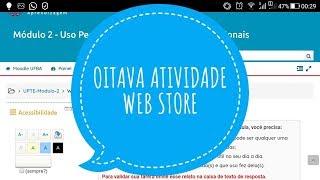 Curso UPTE II: WEB STORE (8ª atividade prática) thumbnail