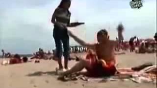 События    Скрытая камера на пляже!!! Хохма!!!